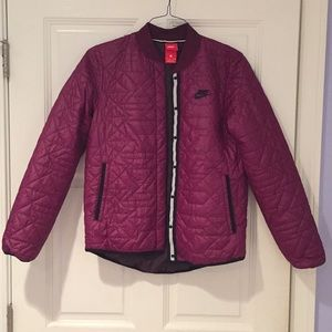 Nike Quilted Bomber Jacket